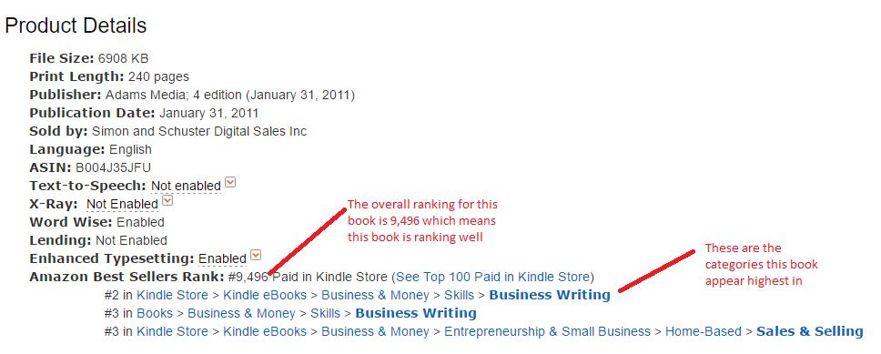Amazon Book Ranking