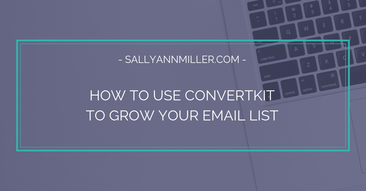 Are you ready to grow your email list? This post shows you how to get started with a ConvertKit form.