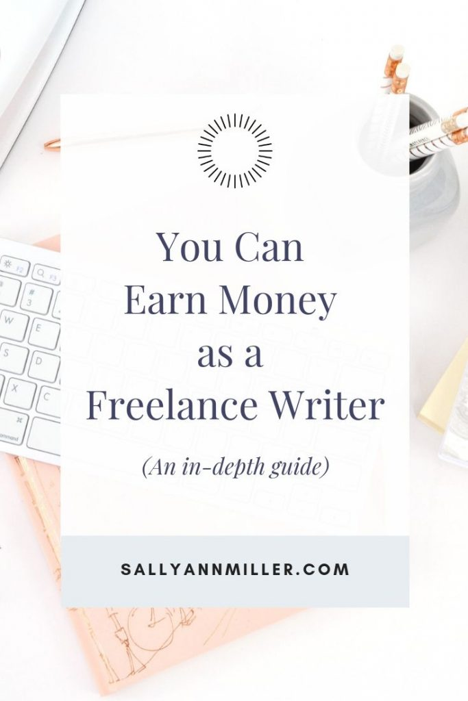 Is it time for you to become a freelance writer? Here's a step by step guide to help you earn money writing.