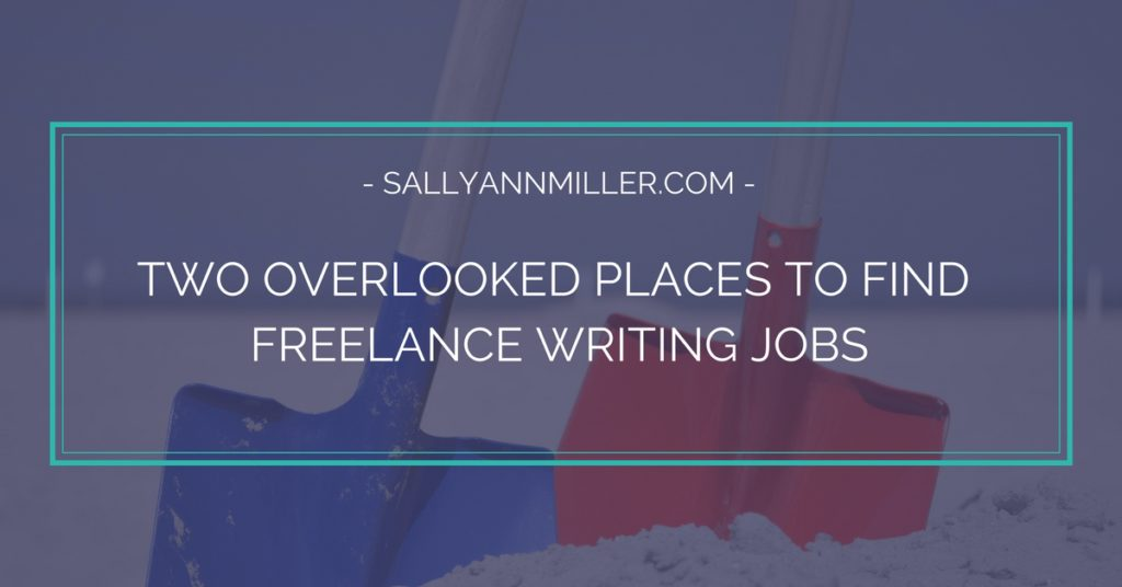 Two Overlooked Places To Find Freelance Writing Jobs For Beginners