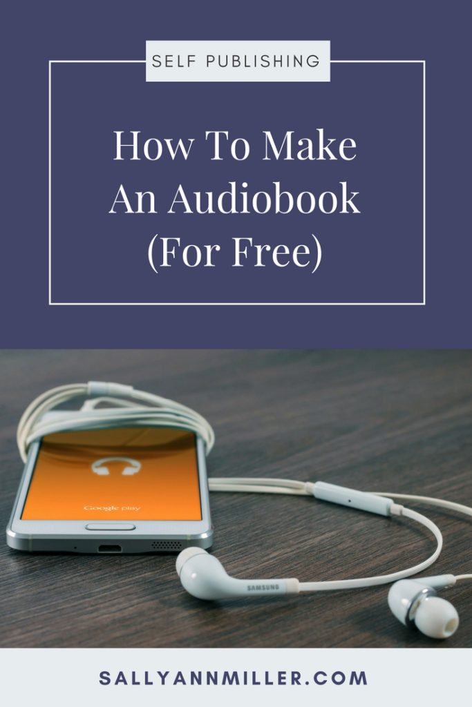 Make An Audiobook For Free