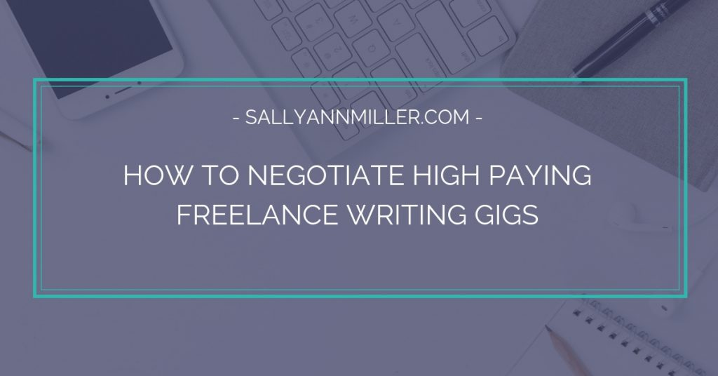 Are you wondering how to negotiate high paying freelance writing gigs? Here are five tips to help.