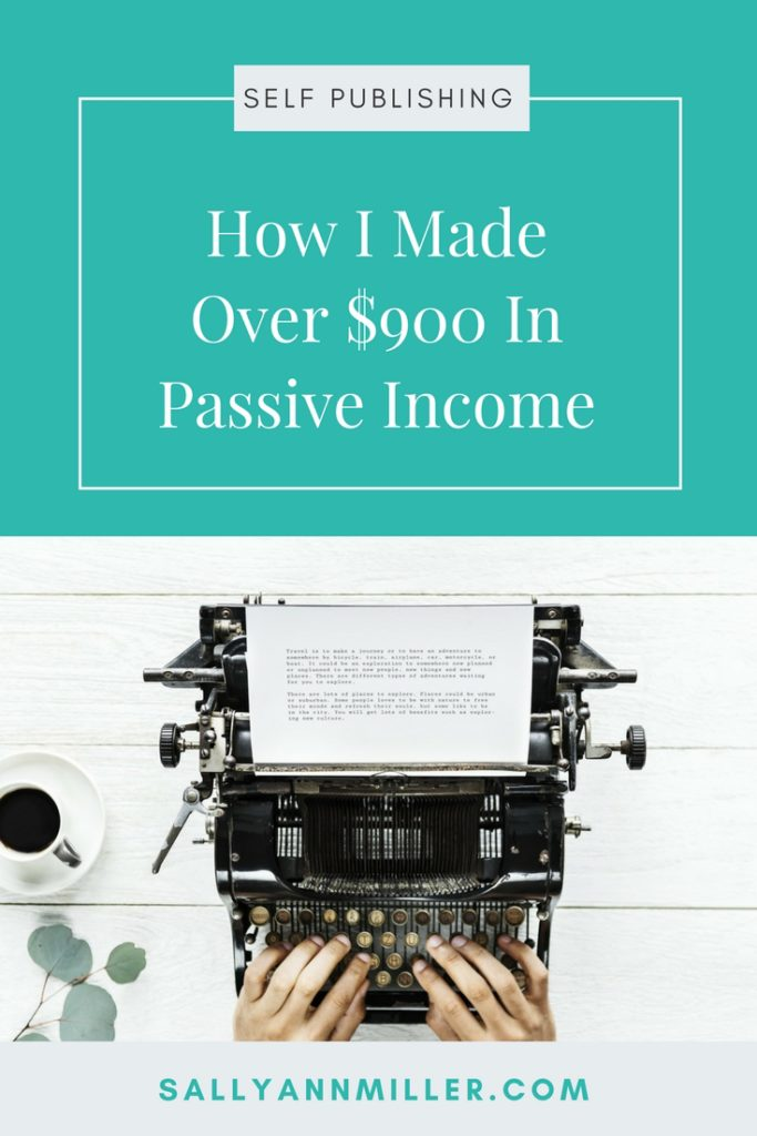 Passive Income From Self Publishing