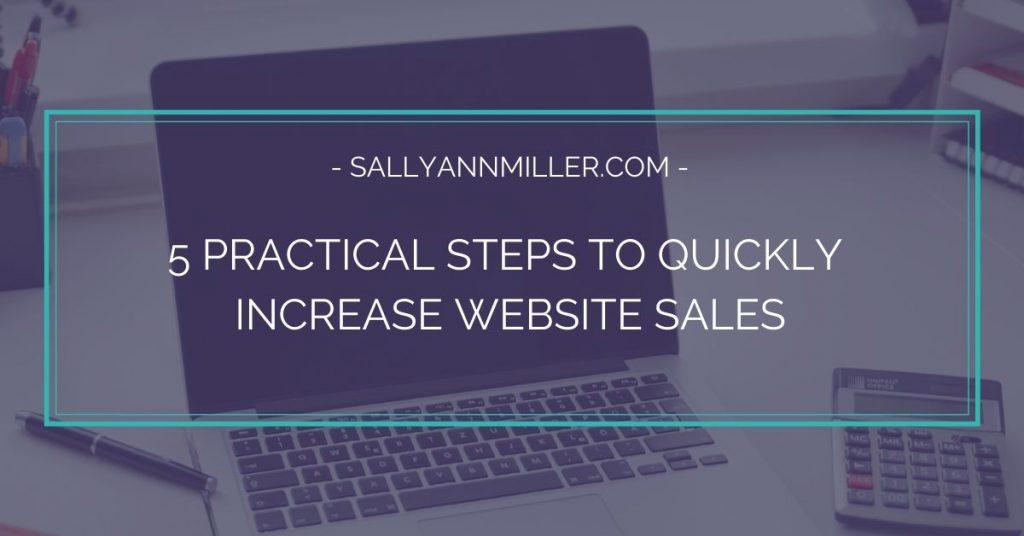 Steps To Increase Website Sales