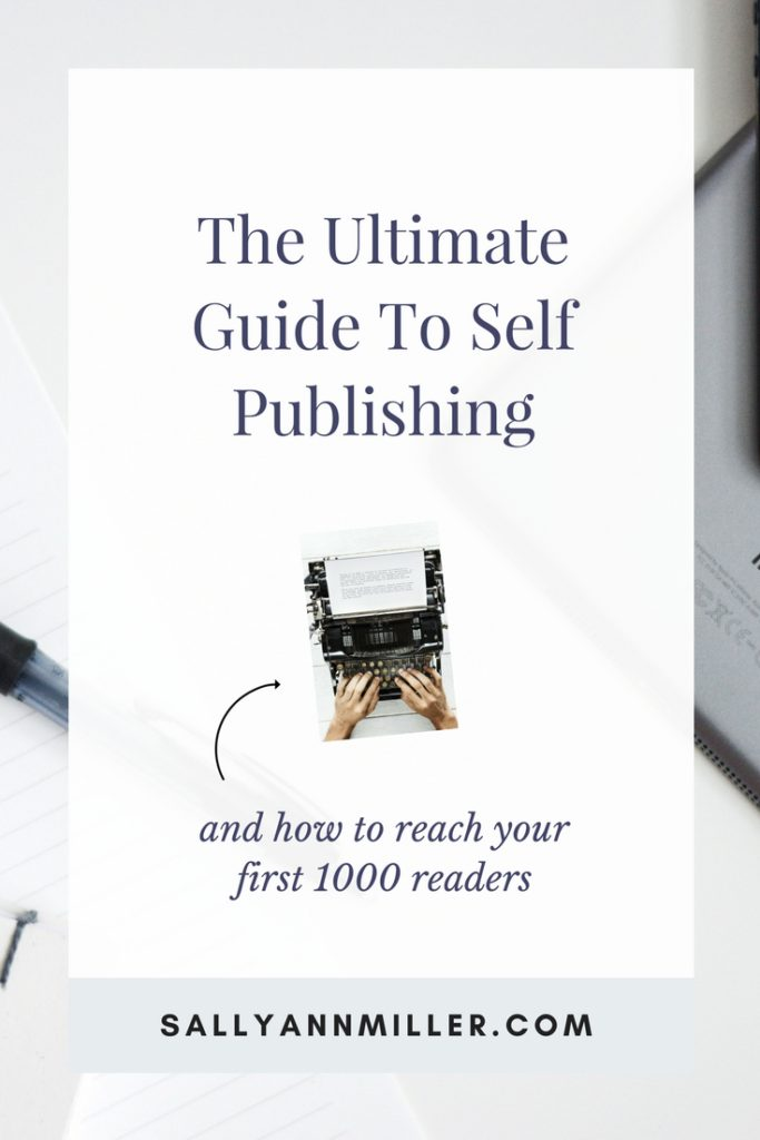 Ultimate Self Publishing Guide