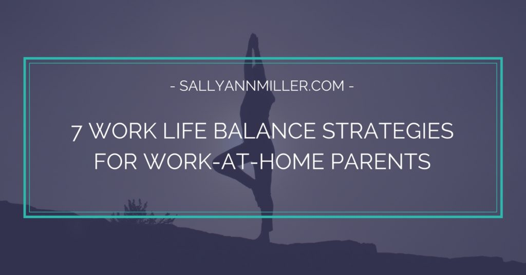 Work Life Balance Strategies