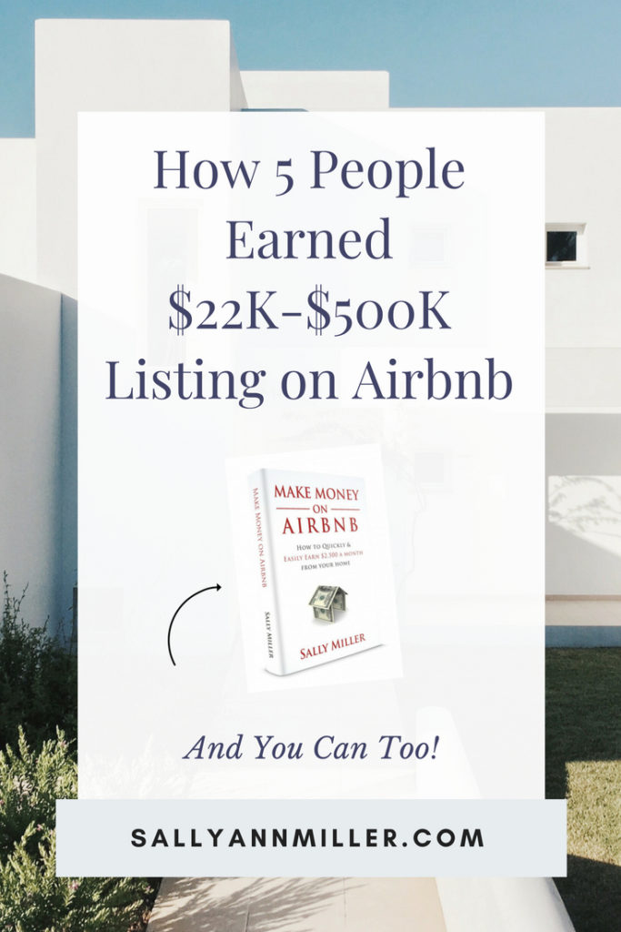 Ready to earn money on Airbnb? This post explores five different strategies people have used to earn. You can learn more in my Airbnb book.