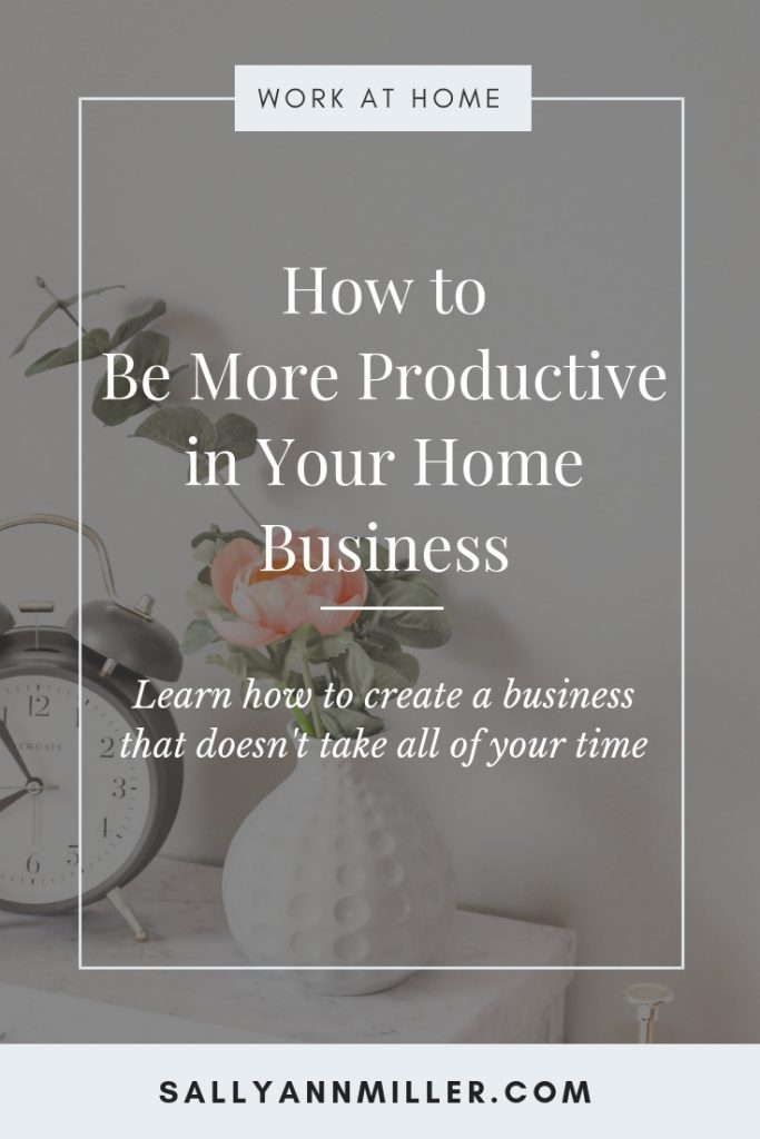 How to be more productive as a busy mom boss and get more done. #worklifebalance #momboss