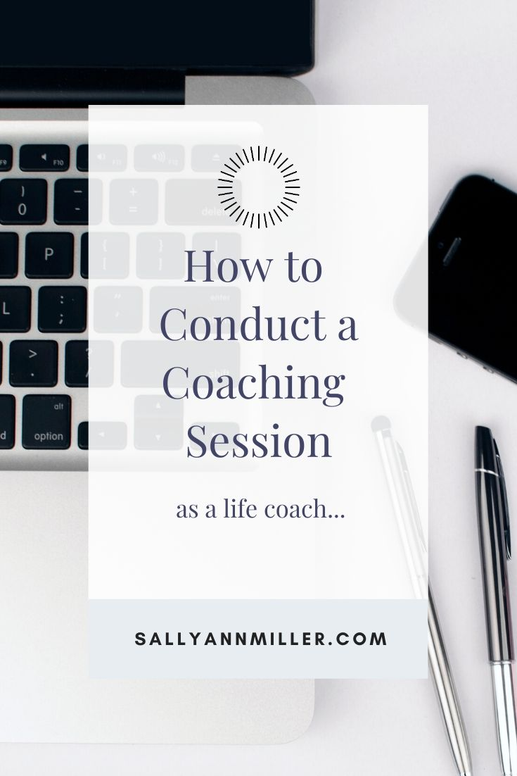 Learn how to conduct a coaching session.