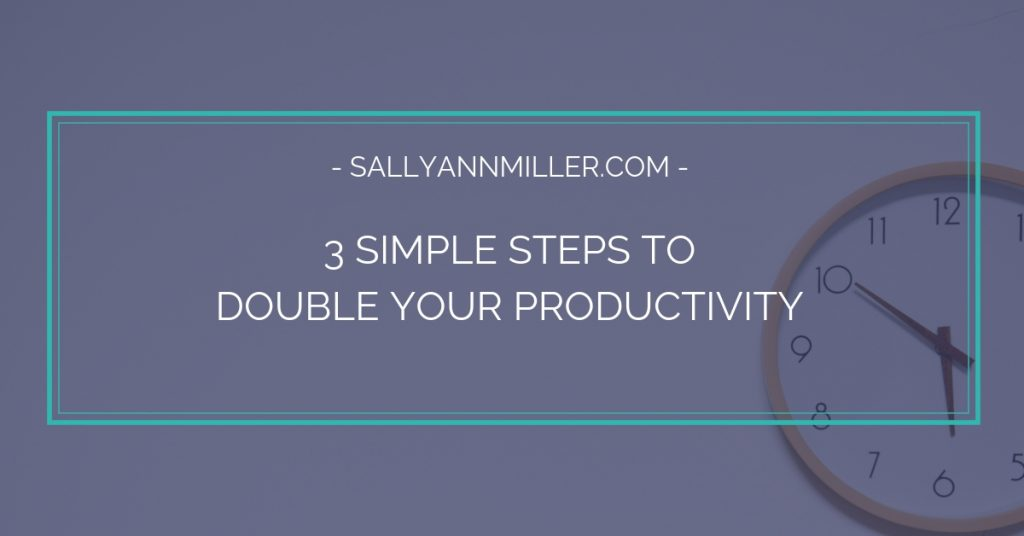 Time blocking can help double your productivity. Here are three simple steps to get you started.