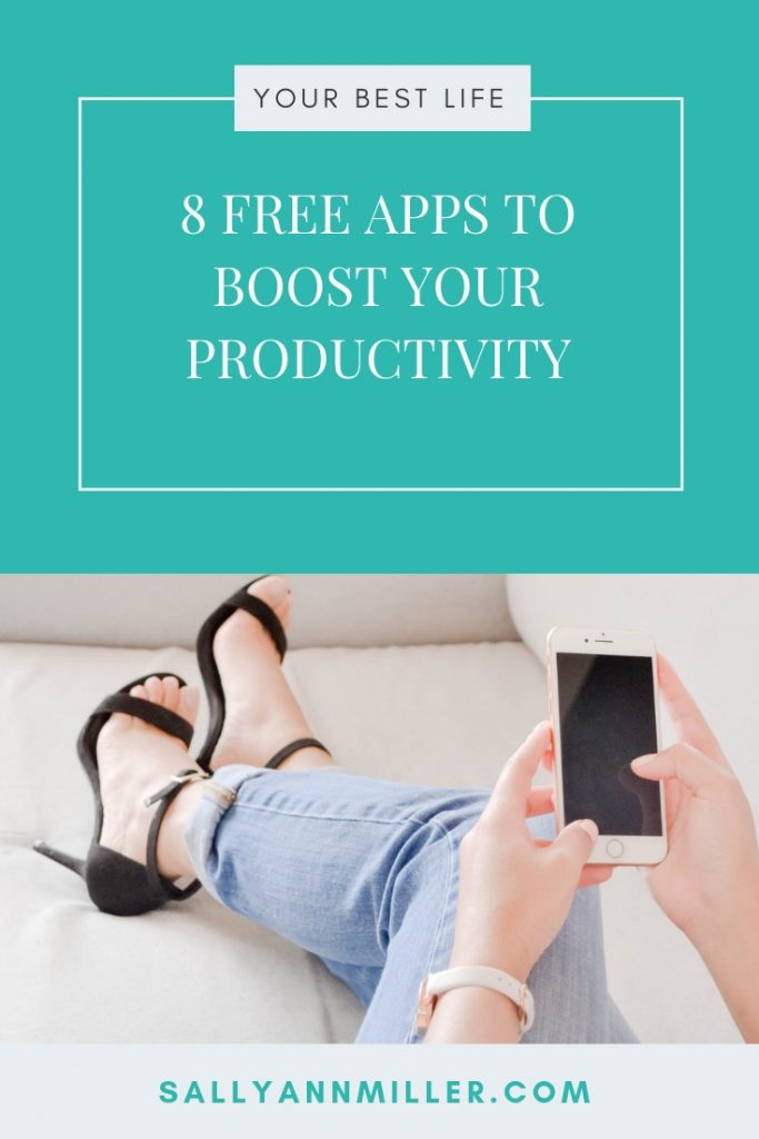 Use these productivity apps to get more done as a busy mompreneur.