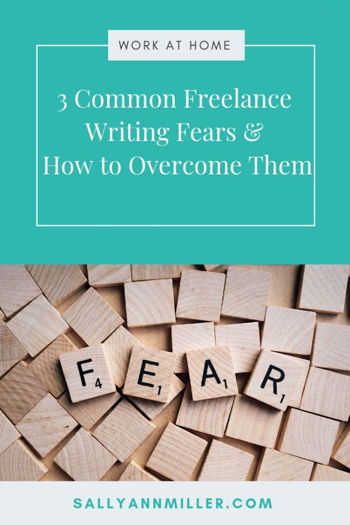 Freelance writing fears can stop you in your tracks if you let them. But, here are solid tips on overcoming them and pushing forward. #overcomingfears #freelancewriting