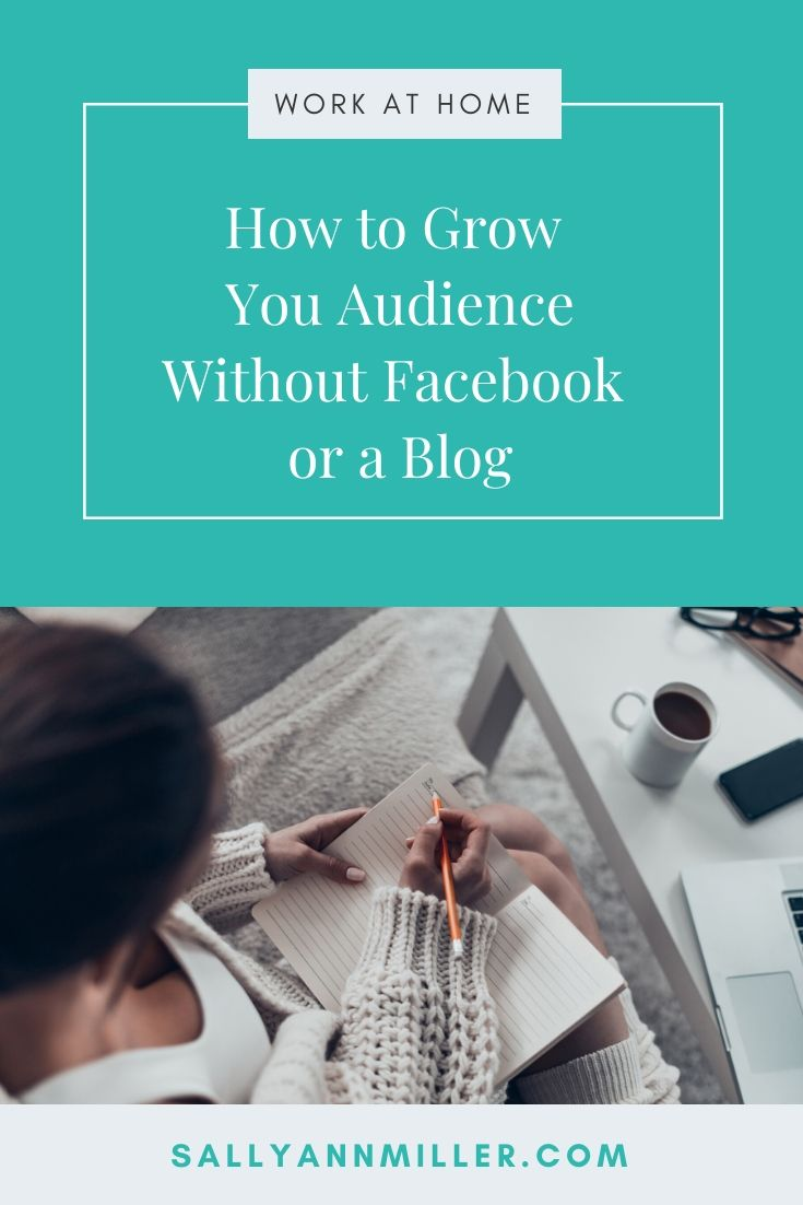 How to grow your audience without Facebook or blogging