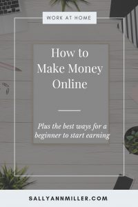 Wondering how to make money online? Here's a three step process for you to follow. Plus you'll find a list of online business ideas for beginners. #onlinebusiness #makemoneyonline #momboss