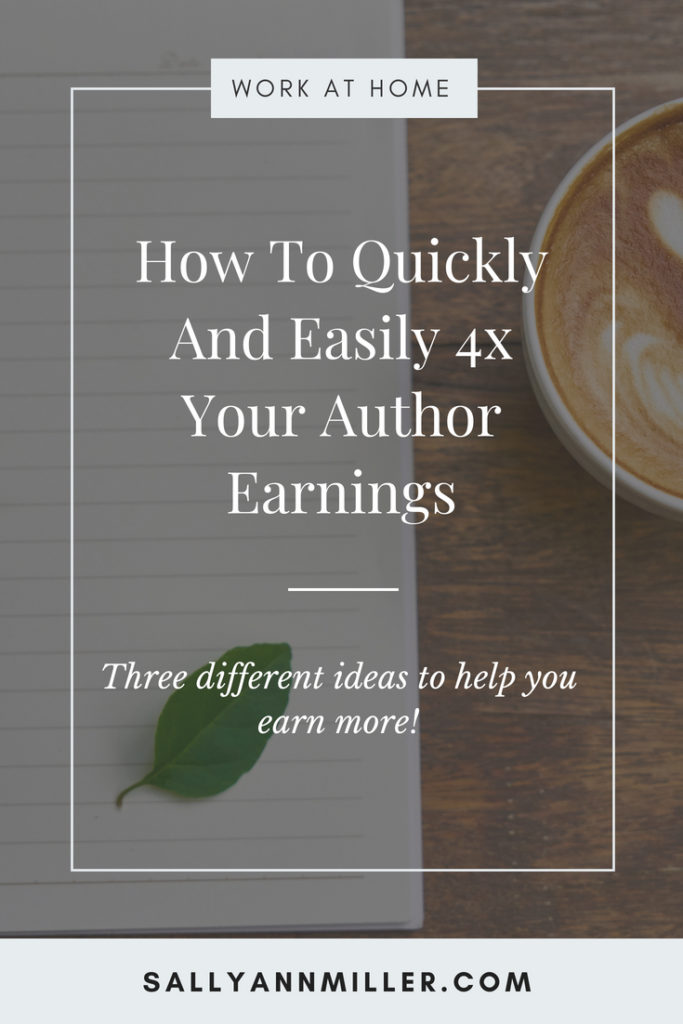 Three strategies to increase your author earnings.