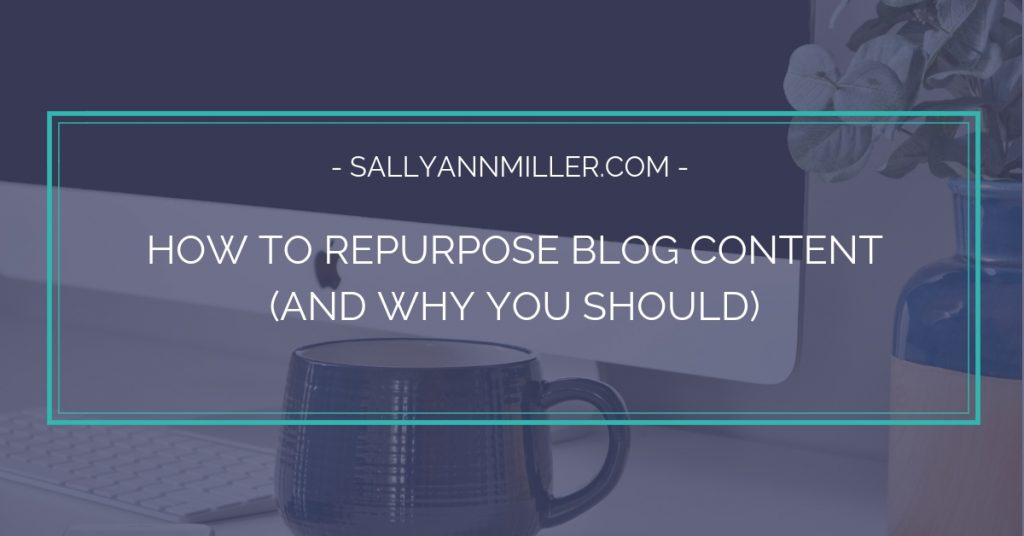 Learn how to repurpose blog content to better serve your audience