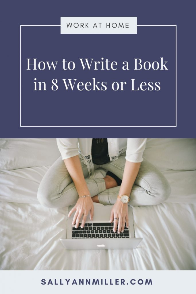 Are you overwhelmed by the thought of creating a book? Don't be! Here are the steps to writing a book quickly.