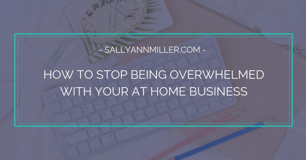 Ready to stop being overwhelmed with your at home business? Learn how to cut through the chaos and find clarity.