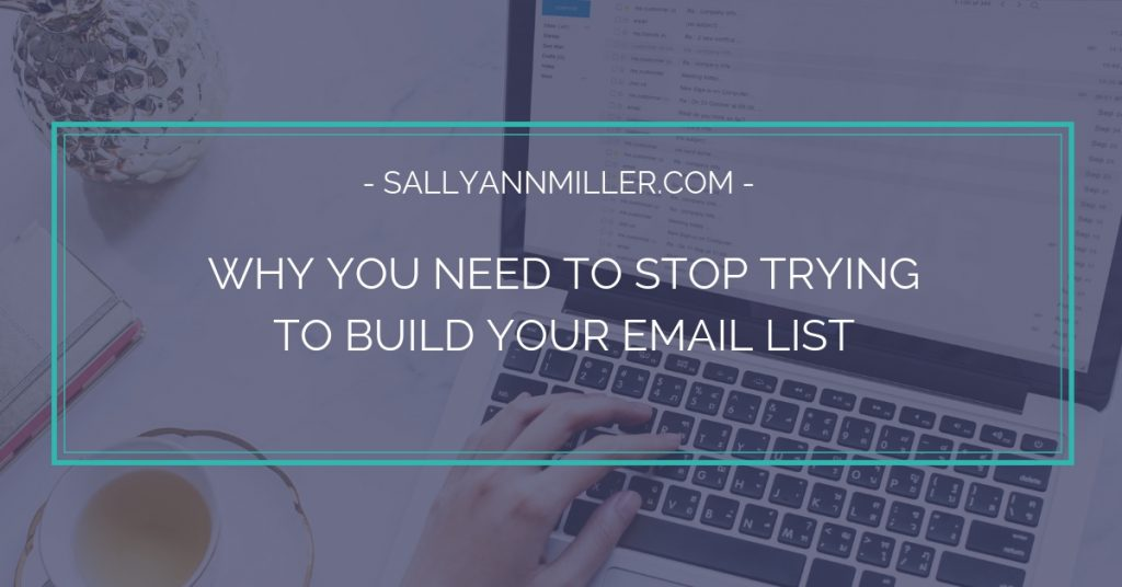 Stop trying to build your email address