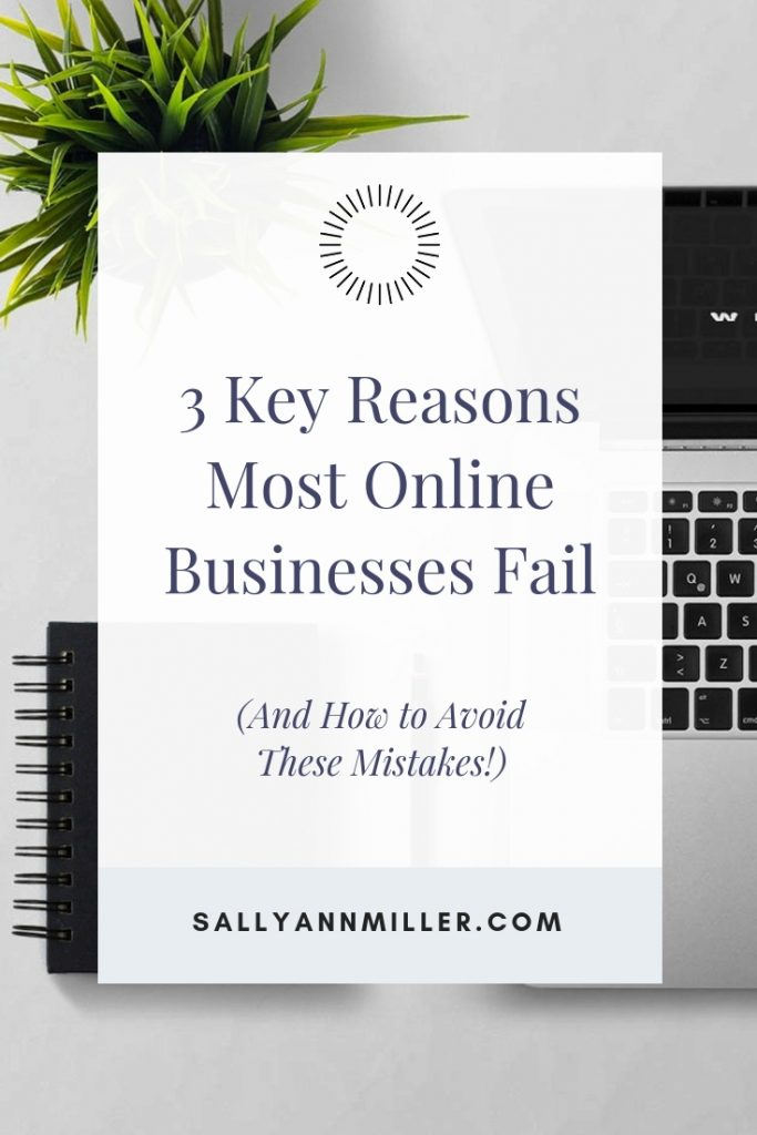 Do you wish you had a successful online business? Then here are three key mistakes to avoid. #growyourbusiness #momboss
